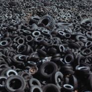 Scrap Tires in Asphalt