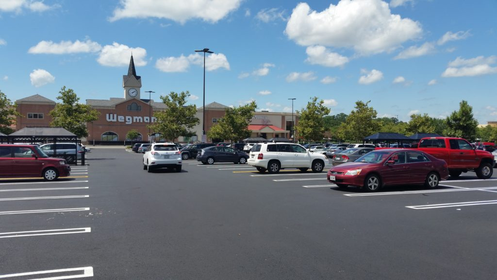 Virginia Paving Company - Sterling Wegman's, Loudoun County